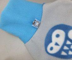 画像4: ブルーふくろうorピンクオーナメント(フリース・ノースリーブ)3号 (4)
