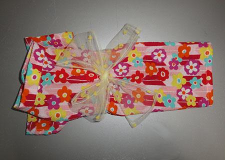 画像1: 浴衣(ピンク・矢と花):SS (1)